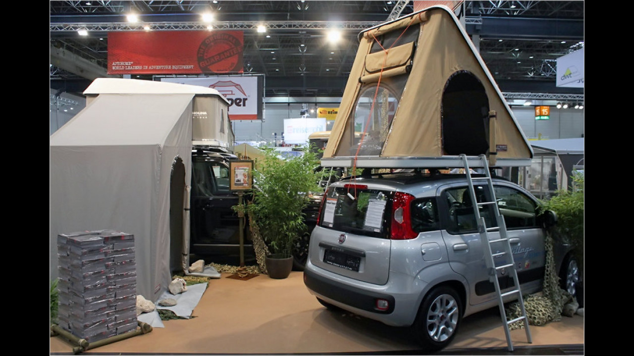 Airtop-Dachzelte