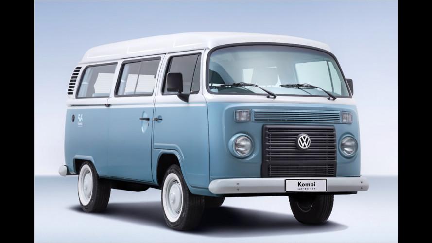 """VW T2: Sonderserie """"Last Edition"""" des Brasilien-Busses"""