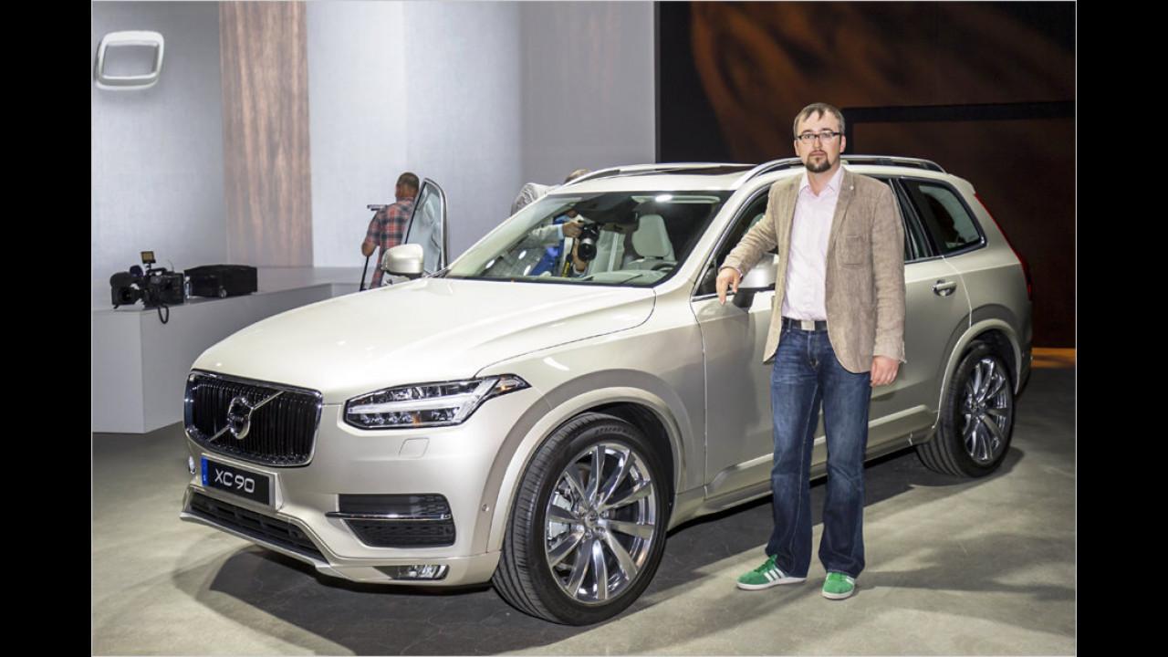 Der neue Volvo XC90 im Erstcheck