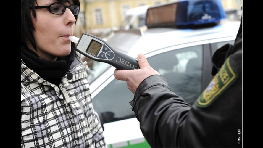 Restalkohol nach ausgelassenem Feiern gefährdet Fahrerlaubnis
