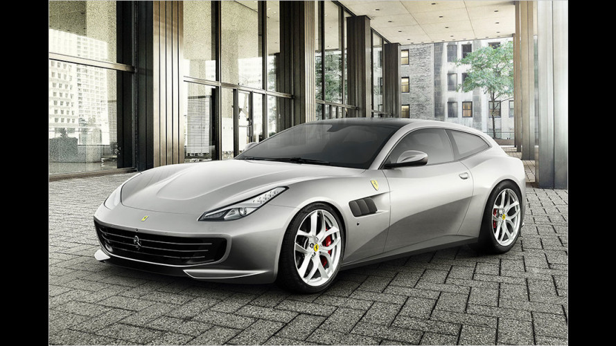 Premiere: So kommt der neue Ferrari GTC4Lusso T