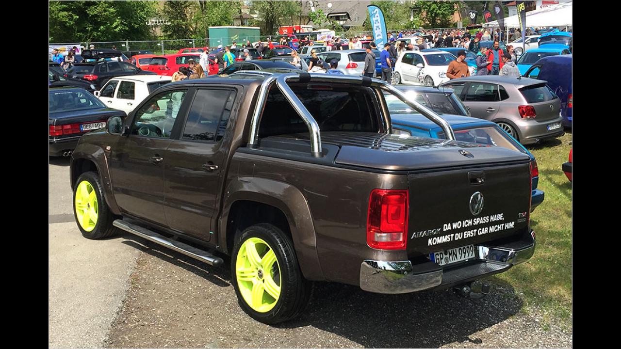 Auch ein VW. Vielleicht einer der größten, der Amarok