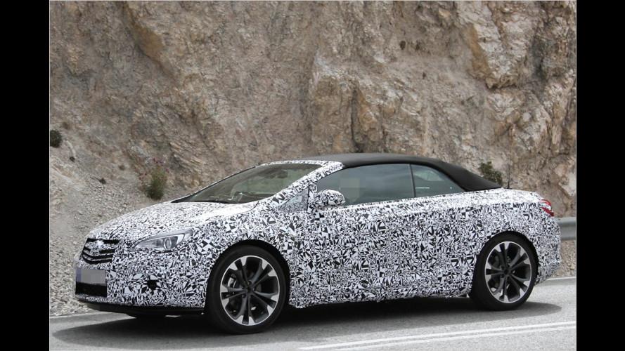 Erwischt: Opel Cabrio für 2013 als Erlkönig