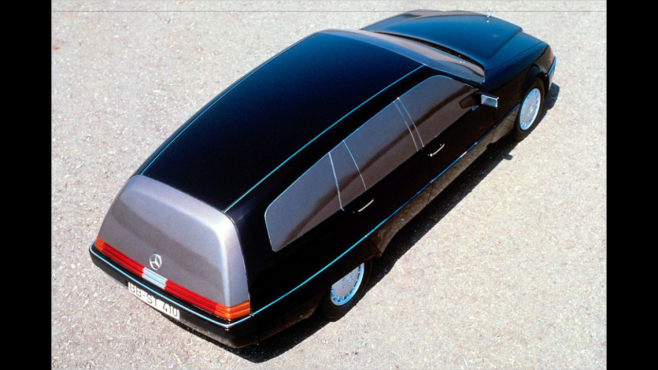 Mercedes W 140 Kombi-Studie