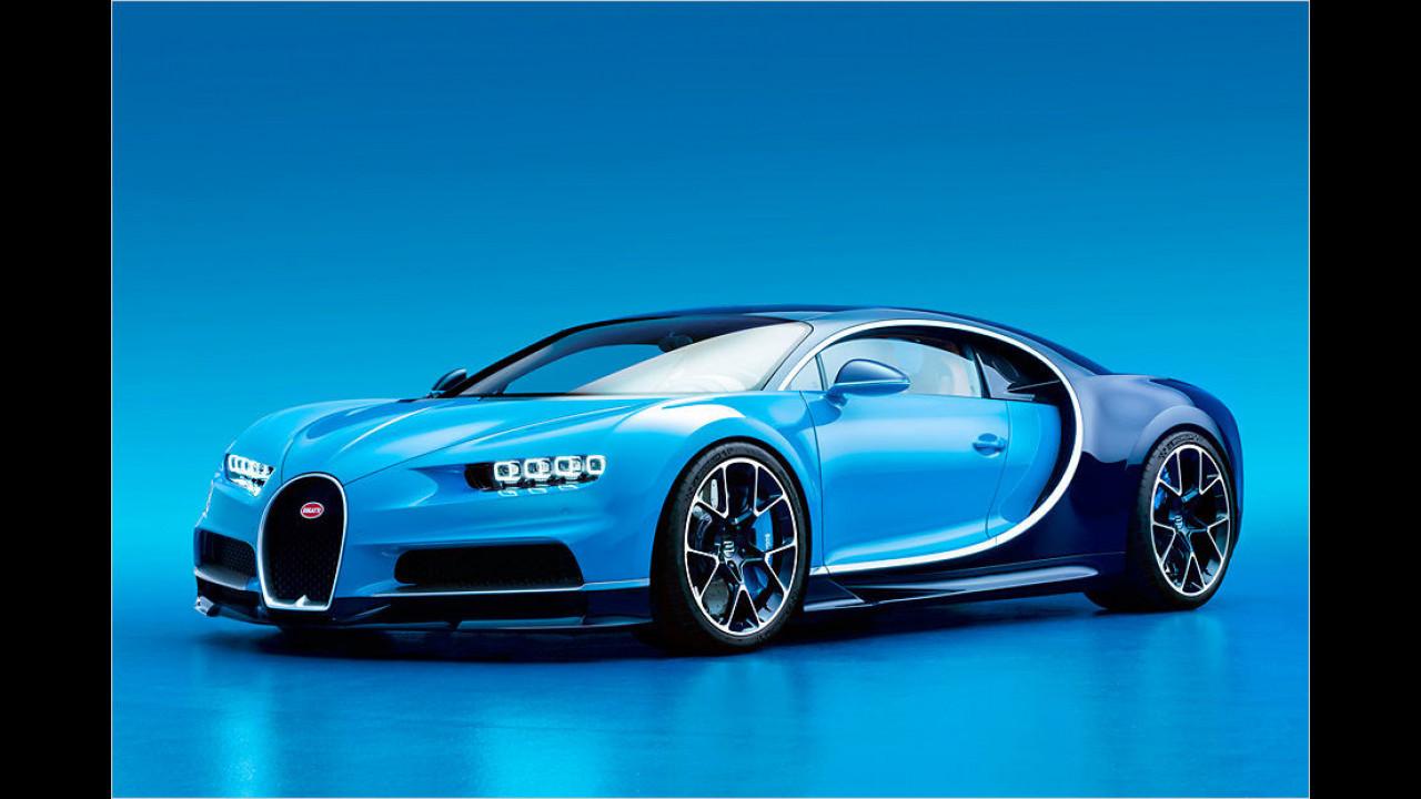 Außer Konkurrenz: Bugatti Chiron