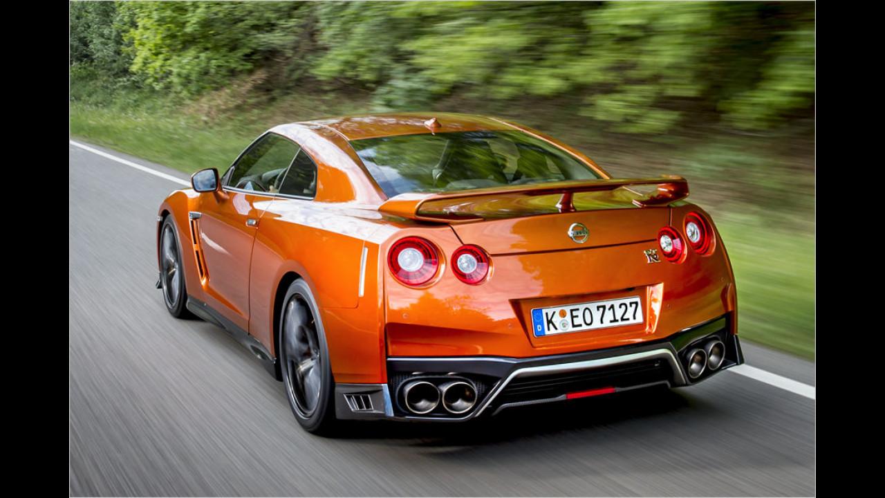 Platz 2: Nissan GT-R