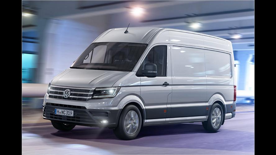 VW Crafter: Nie mehr Sprinter