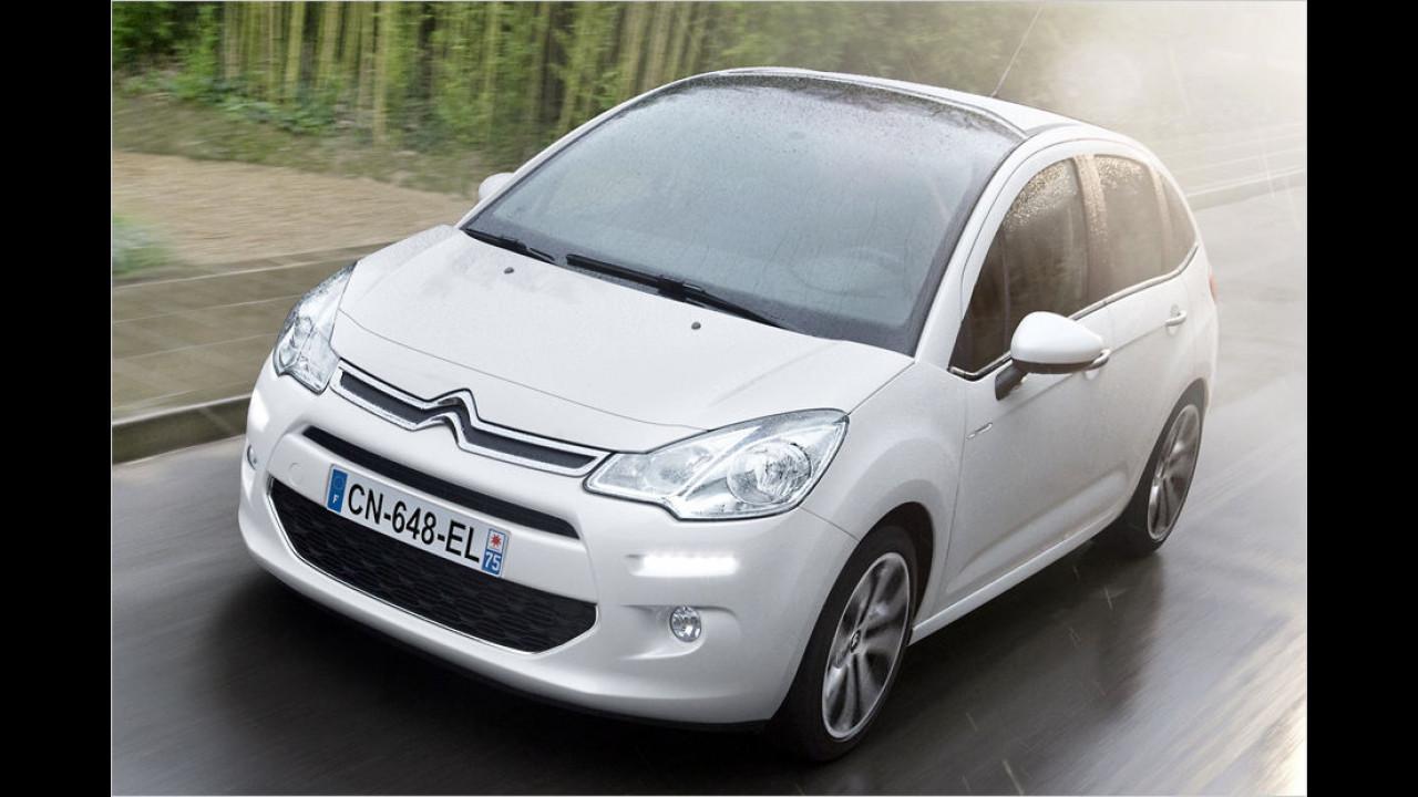 Citroën C3 PureTech 68 Attraction (68 PS): 27,1 Prozent