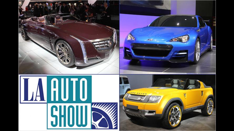 Los Angeles Auto Show 2011: Die besten Studien aus aller Welt