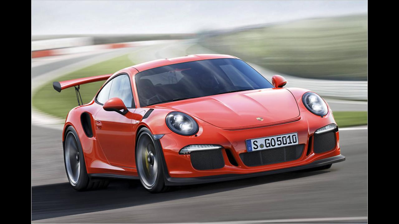 Porsche 911 GT3 RS (991): 7:20 Minuten (schnellster aktueller Porsche 911)