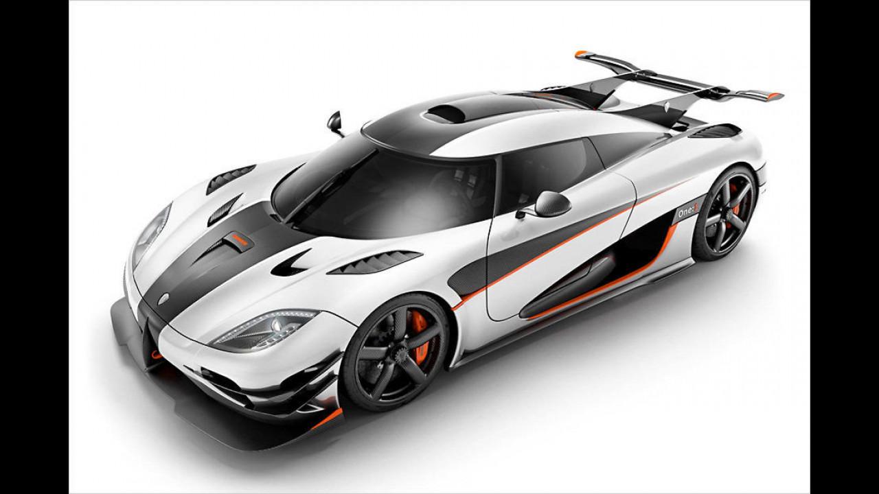 8. Koenigsegg One:1