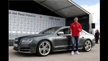 Neue Audis für Messi und Co.
