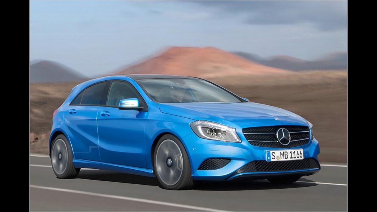Abmessungen: Mercedes A-Klasse