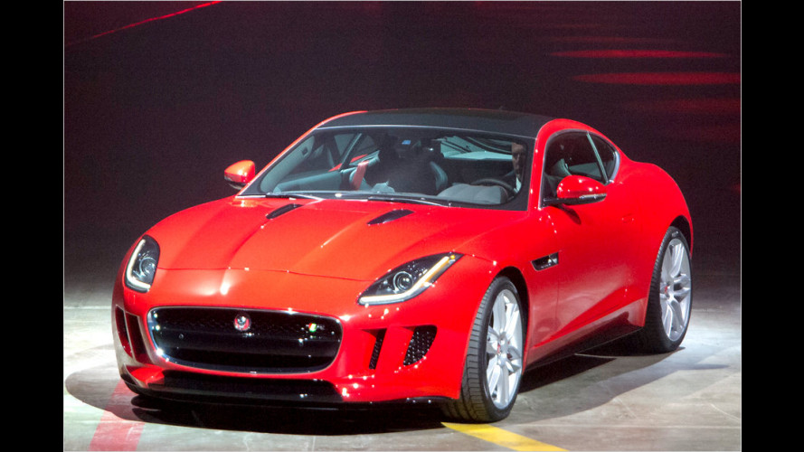 Jaguar F-Type Coupé ist da