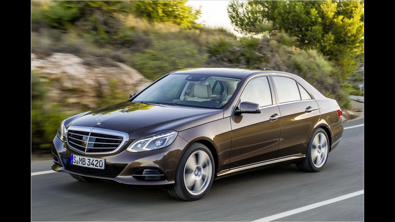 Obere Mittelklasse, Platz 3: Mercedes E-Klasse (15.312 Stück)