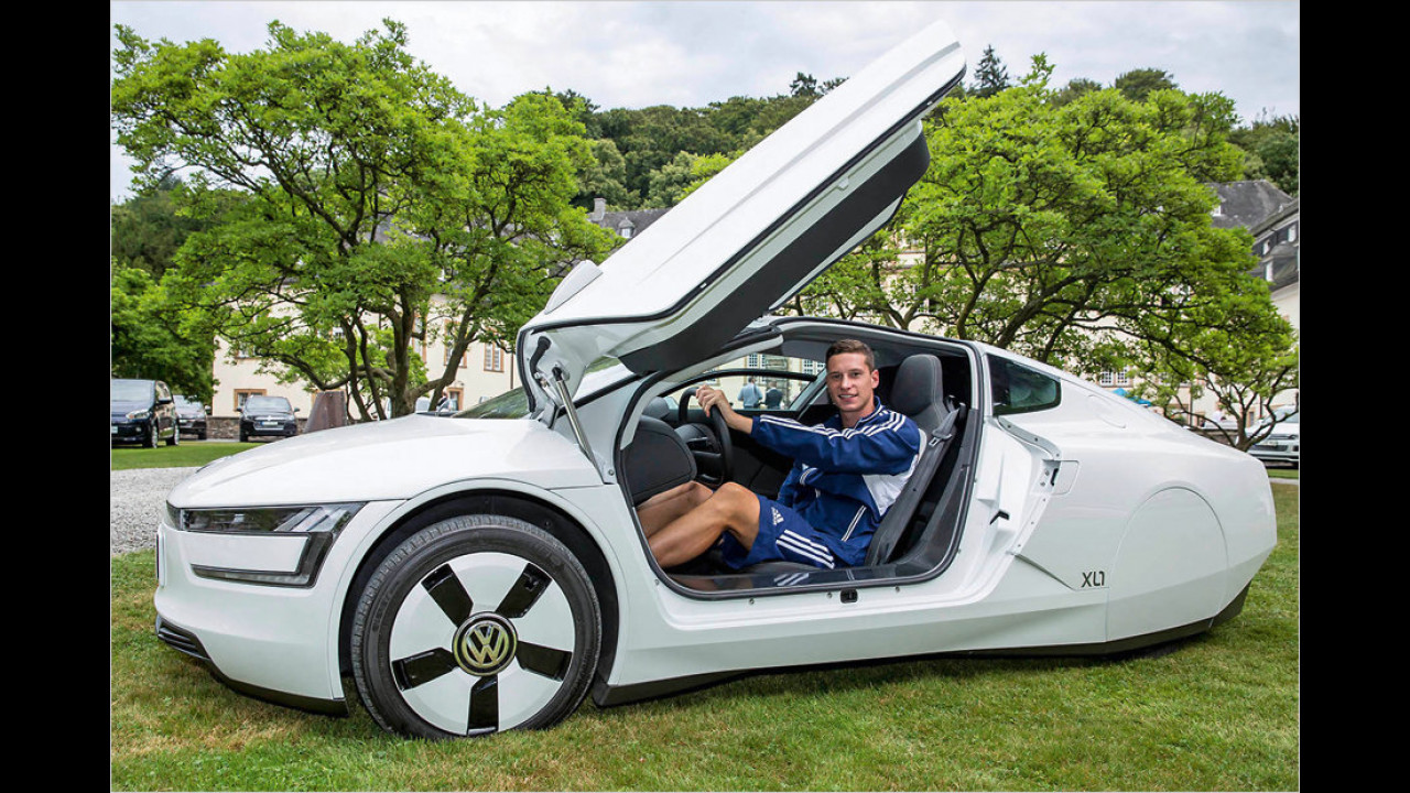 Julian Draxler: VW XL1