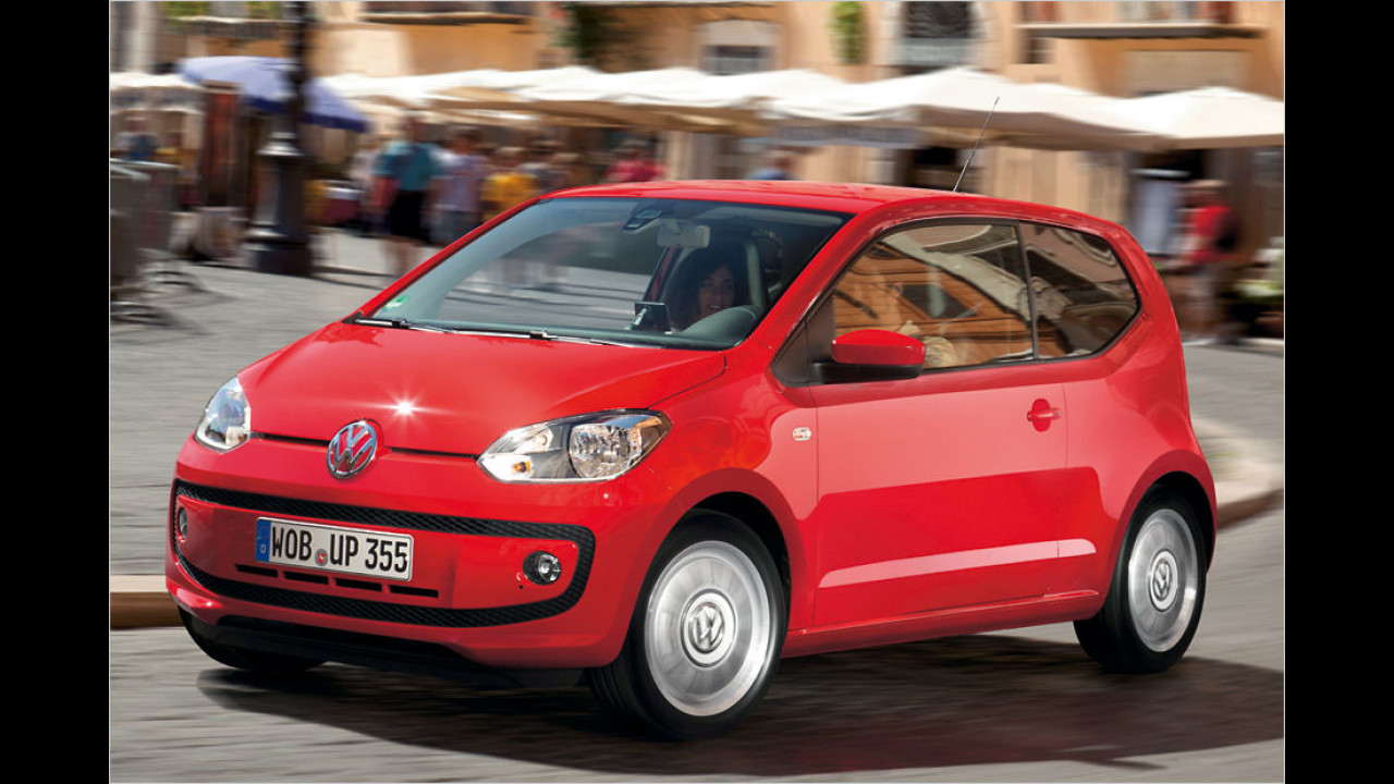 Minis, Platz 1: VW Up (19.749)