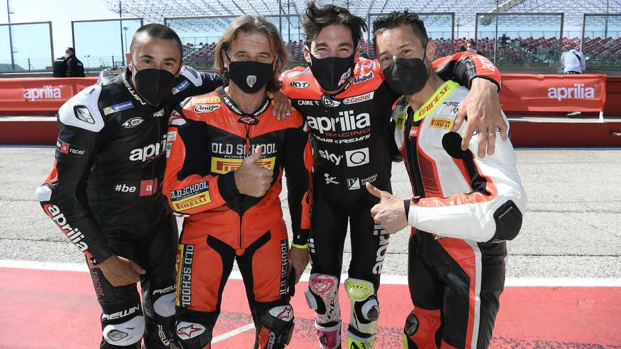 2021 Aprilia All-Stars at Misano World Circuit