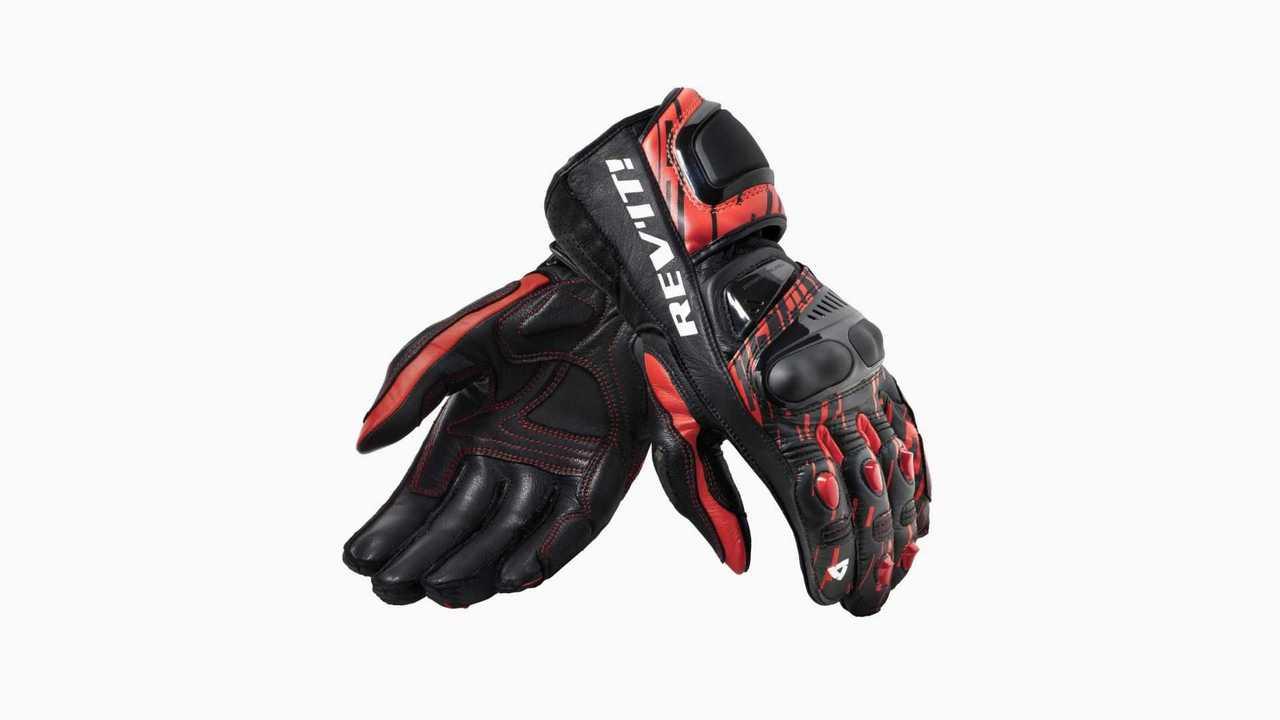 REV'IT! Quantum 2 Gloves - Red and Black