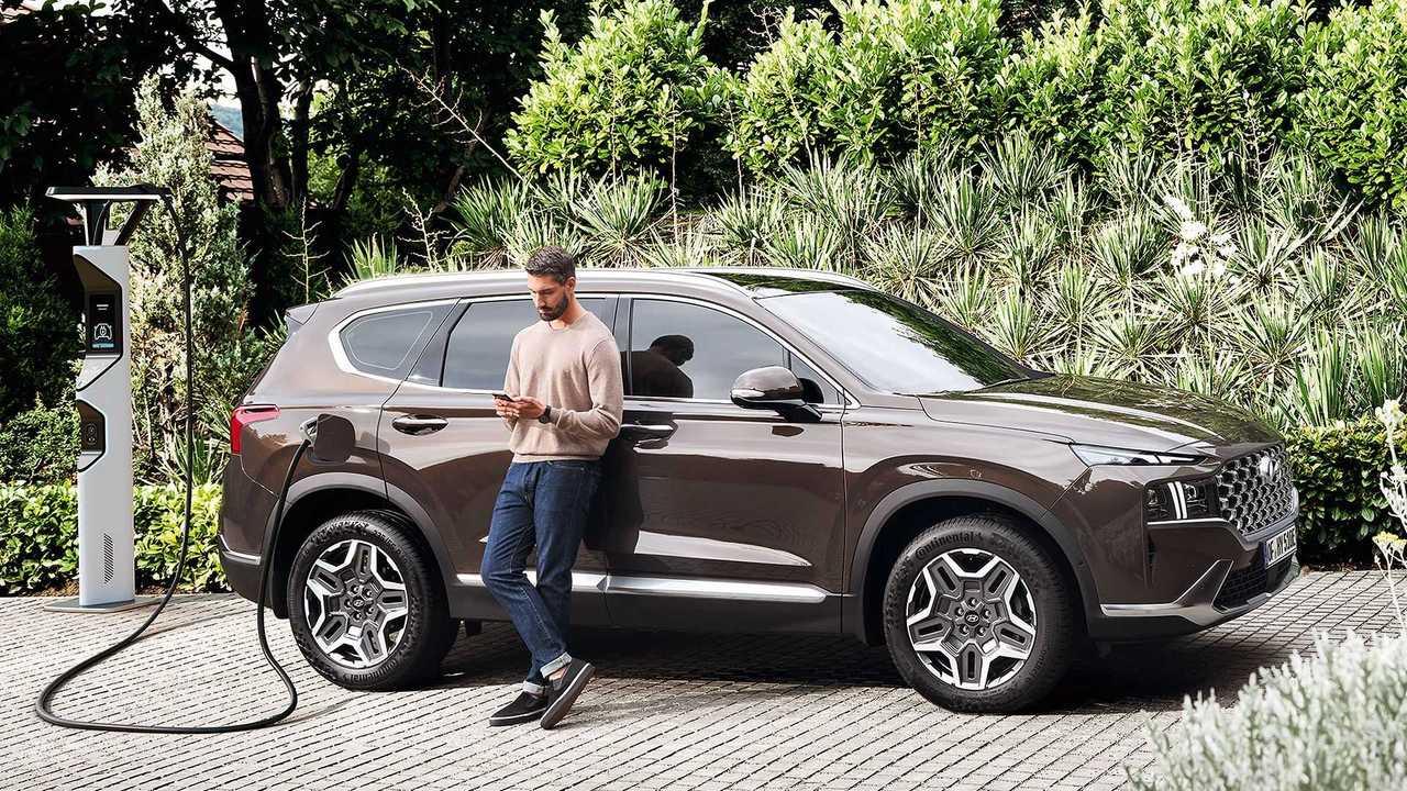 Das kostet der neue Hyundai Santa Fe mit Plug-in-Hybrid