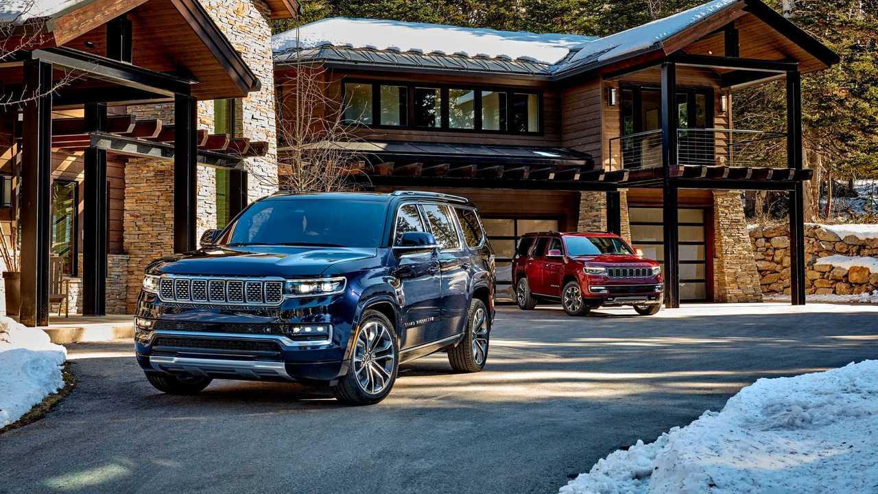 Jeep представил серийные Wagoneer и Grand Wagoneer