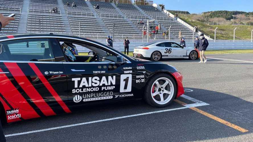 Tesla elaborate e non solo: il sorprendente campionato EV giapponese
