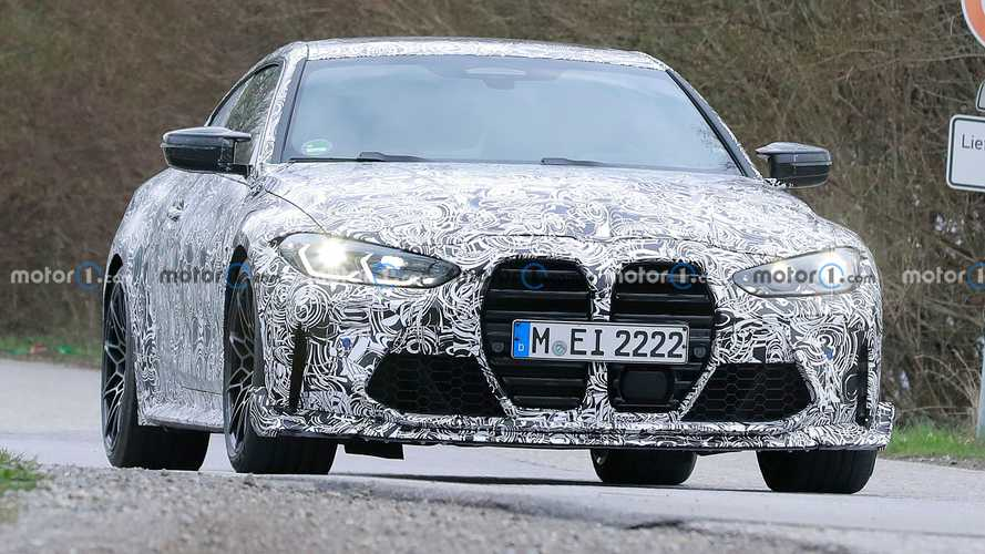 BMW M4 CSL Spy Shots