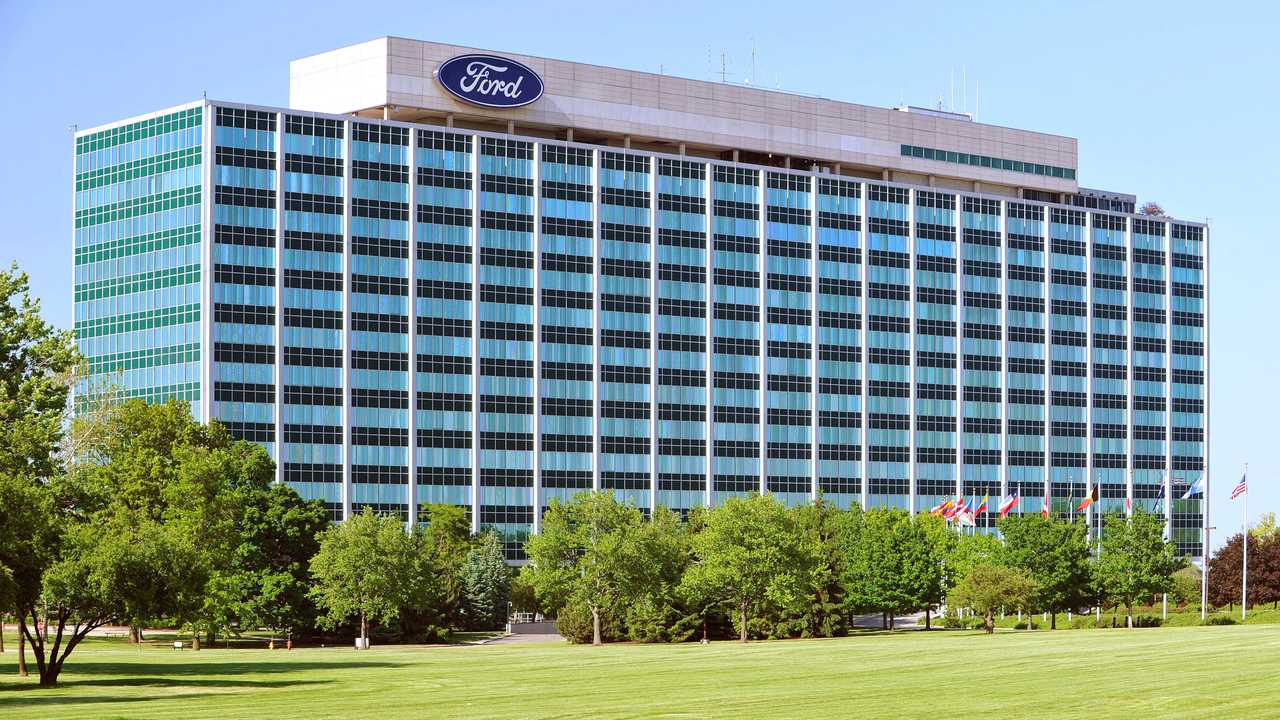 ford world headquarters outside