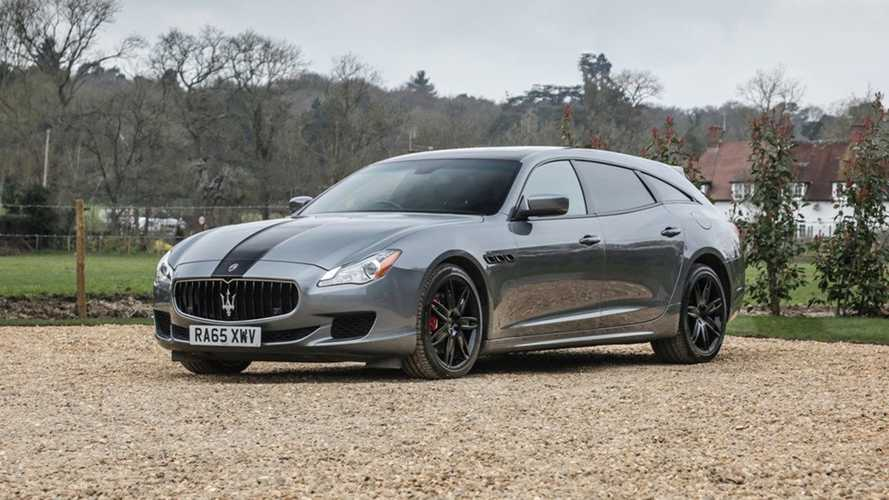 El exclusivo Maserati Quattroporte Shooting Brake se subasta