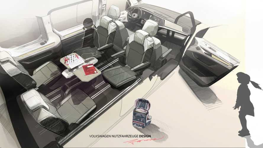 Volkswagen T7 Multivan New Teaser Is All About The Nifty Table