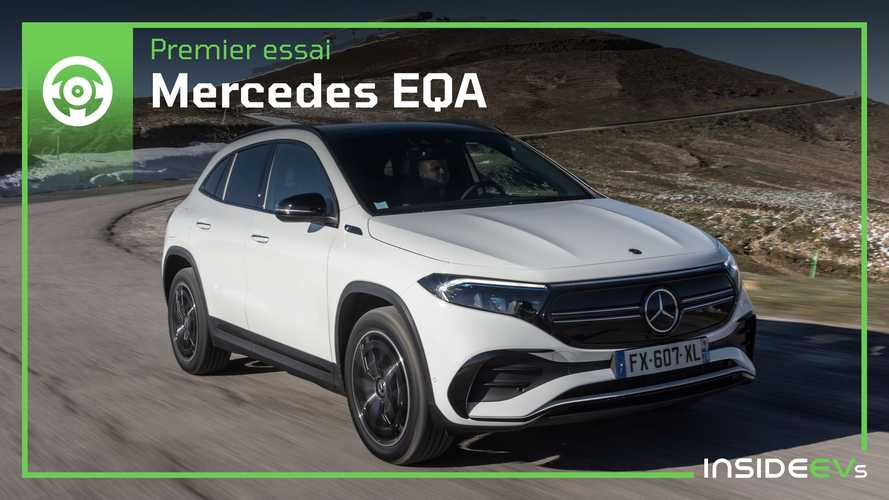 Essai Mercedes EQA - Que vaut le GLA électrique ?