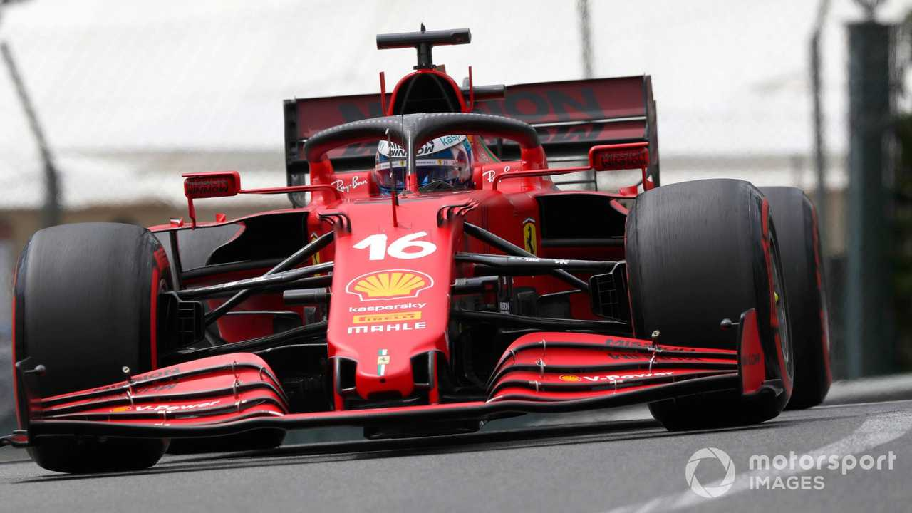 Charles Leclerc at Monaco GP 2021