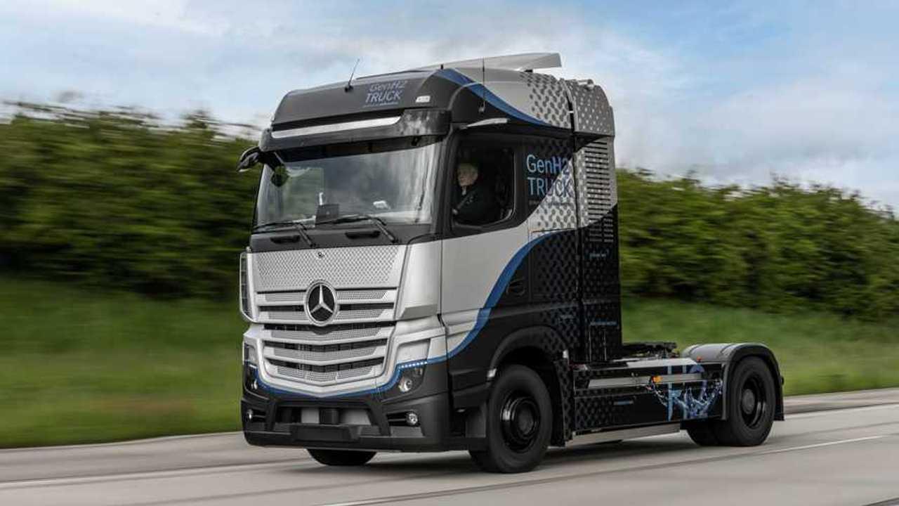 Daimler Trucks GenH2 Truck prototipo (2021) - pista