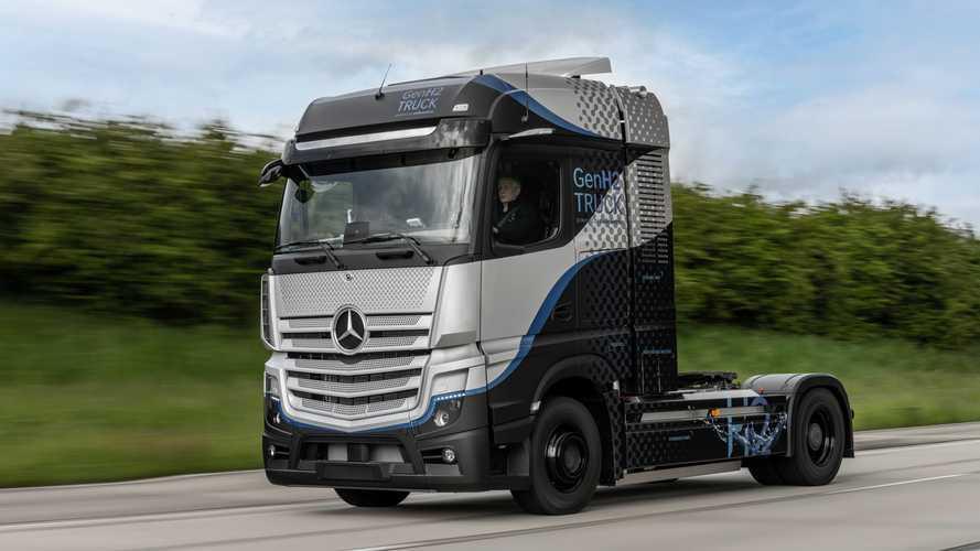 Mercedes-Benz GenH2, al via i test intensivi nel centro prove