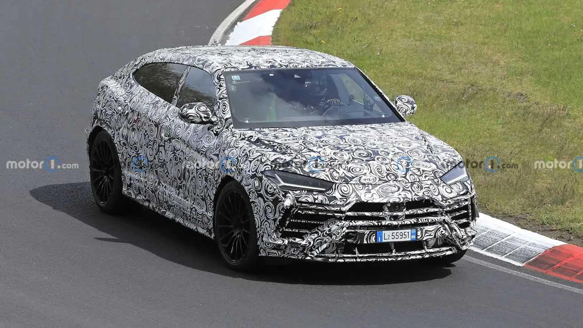 Lamborghini Urus Evo Spied Looking Fast On The Nurburgring