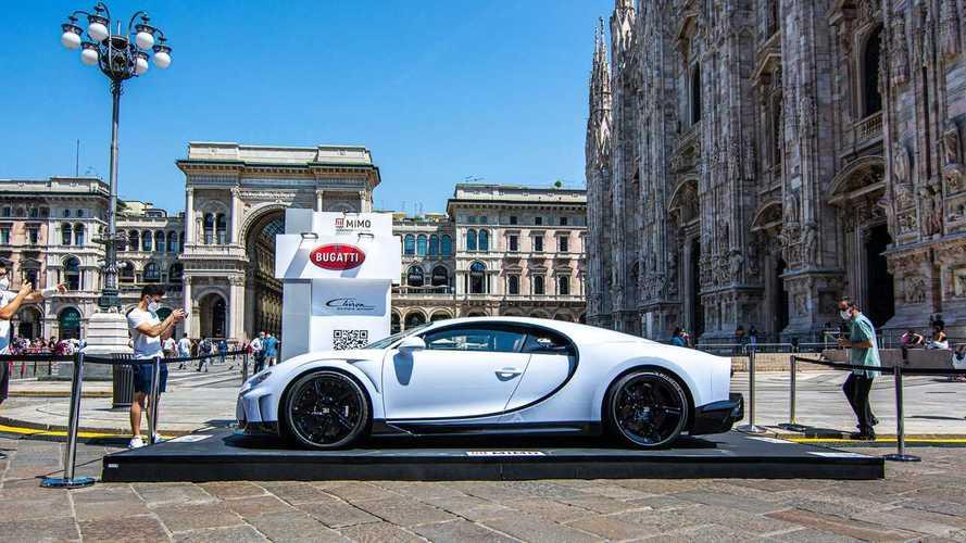 """La Bugatti Chiron Super Sport è la """"star"""" del MiMo 2021"""