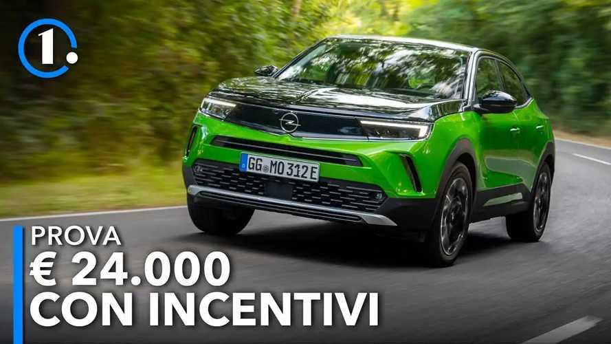 Nuova Opel Mokka (2021), ecco come va la versione elettrica