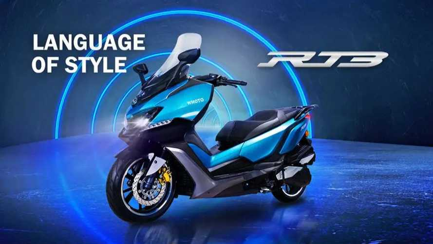 The WMoto RT3 Is A Sleek Maxi-Scooter