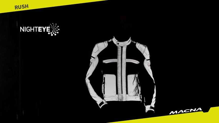 Macna's Night Eye Visibility Fabric Makes Riding After Dark Safer