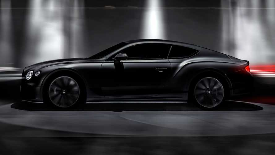 Тизеры Bentley Continental GT Speed