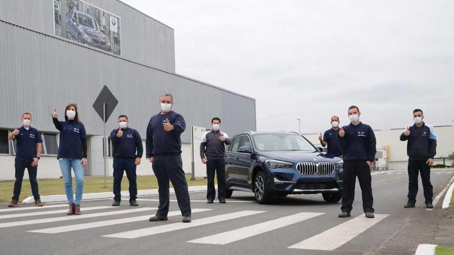 BMW bate marca de 70 mil carros produzidos no Brasil