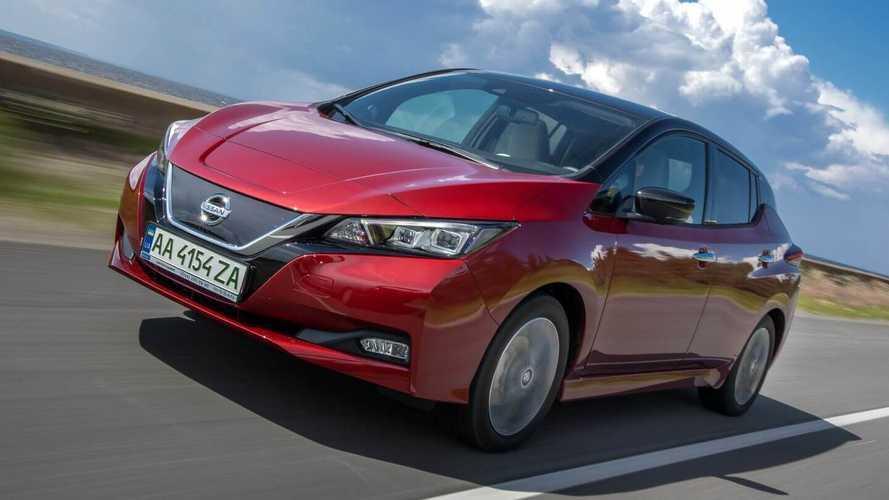 Официальные украинские дилеры начали продажи Nissan LEAF