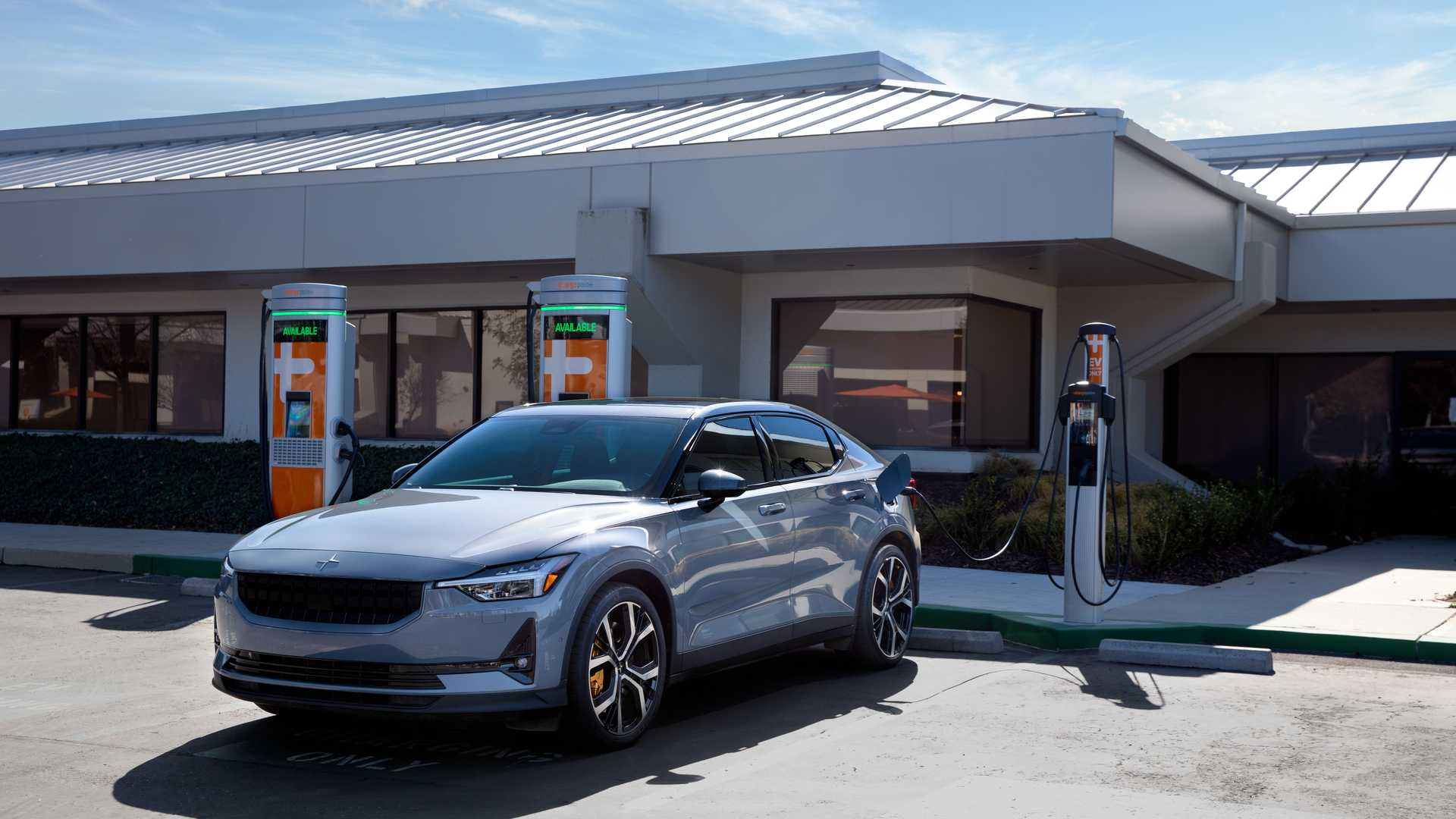 Polestar ChargePoint partnership