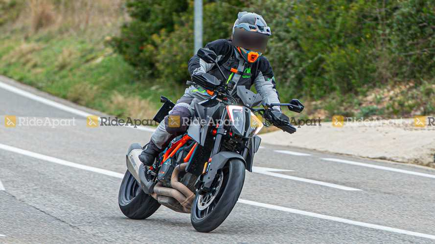 KTM 1290 Super Duke RR Spy Photos