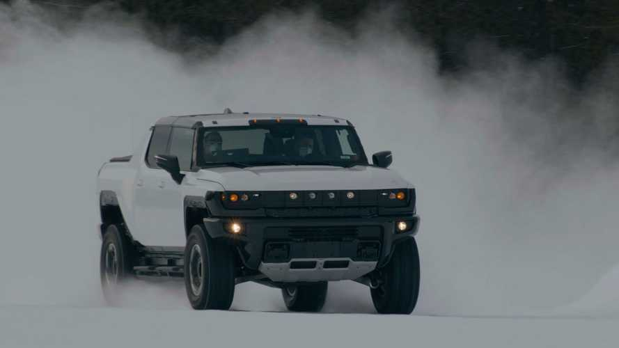 See Hummer Electric Truck Winter Testing: SUV Version To Debut On April 3
