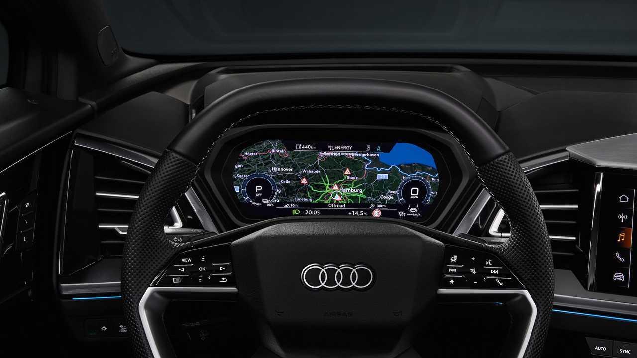 Audi Q4 E-Tron Protótipo Interior