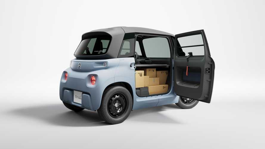 Citroen My Ami Cargo debuts as tiny commercial EV with 8 bhp