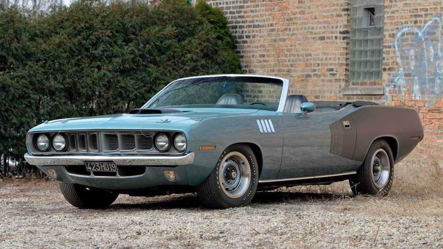 Rare Plymouth Hemi Cuda Convertible Could Fetch $6.5M At Auction