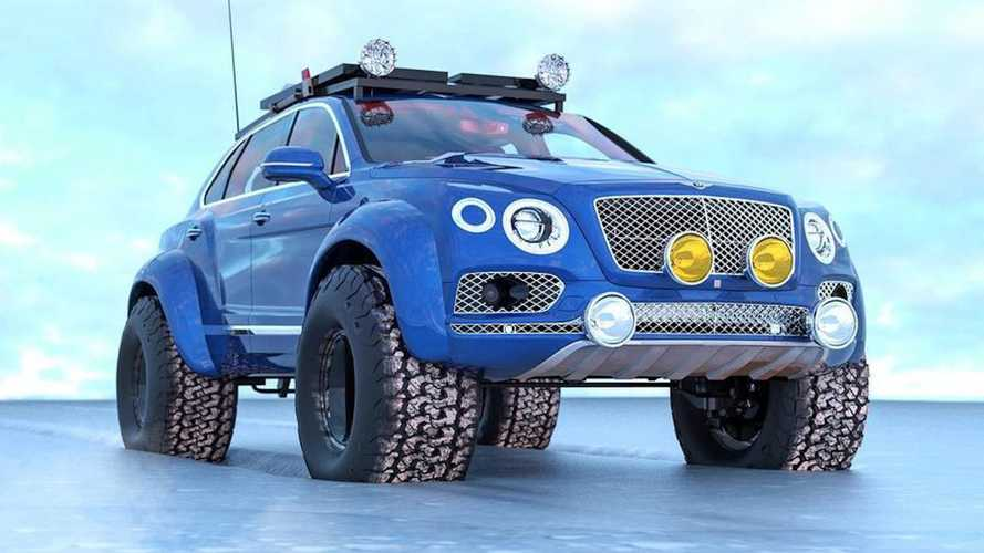 Bentley Bentayga Arctic Expedition Renderings