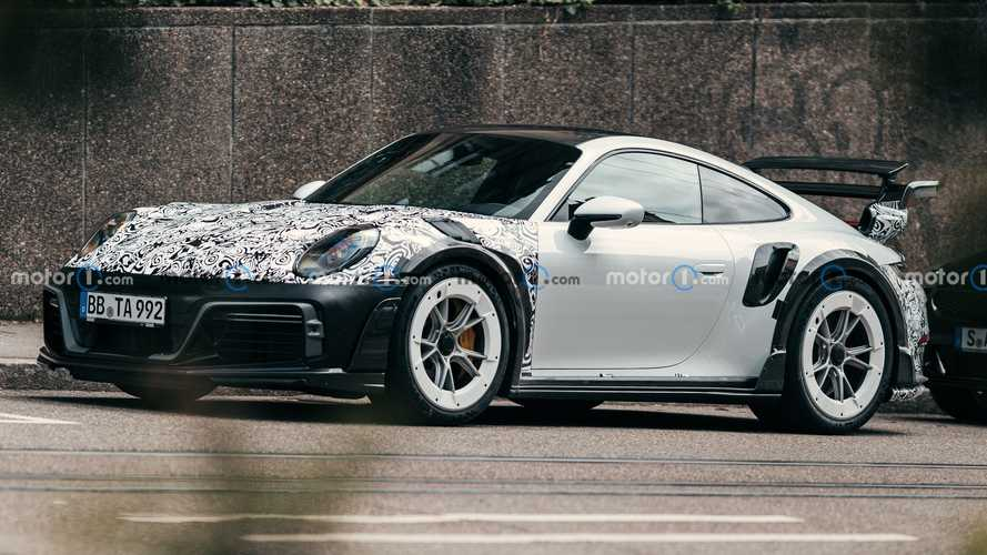 La Porsche 911 Techart GTstreet R surprise dans la rue